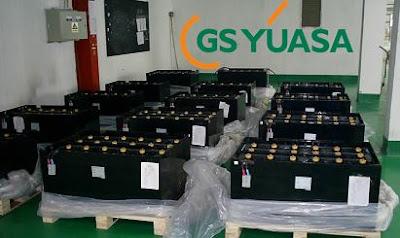 Bình điện xe nâng GS Yuasa 24V 280AH 390AH