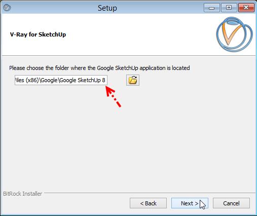 การติดตั้ง V-Ray for SketchUp บน Windows 8 Vrayw8-06