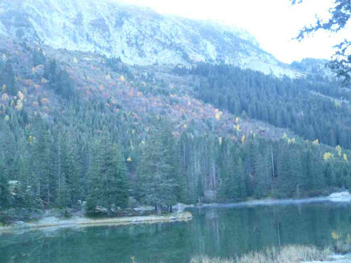 Le lac de Poursollet