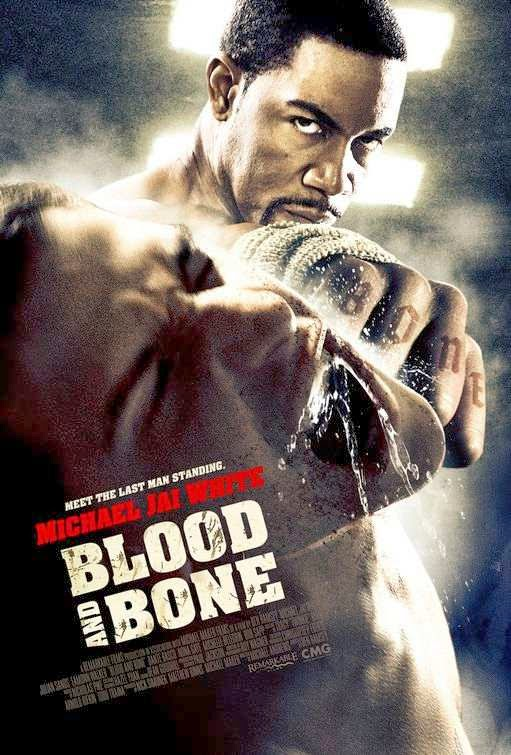 Poster Of Blood and Bone (2009) Full Movie Hindi Dubbed Free Download Watch Online At Alldownloads4u.Com