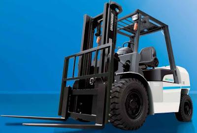 Xe nâng hàng 3.5 - 5.0 tấn Unicarriers Nhât Bản
