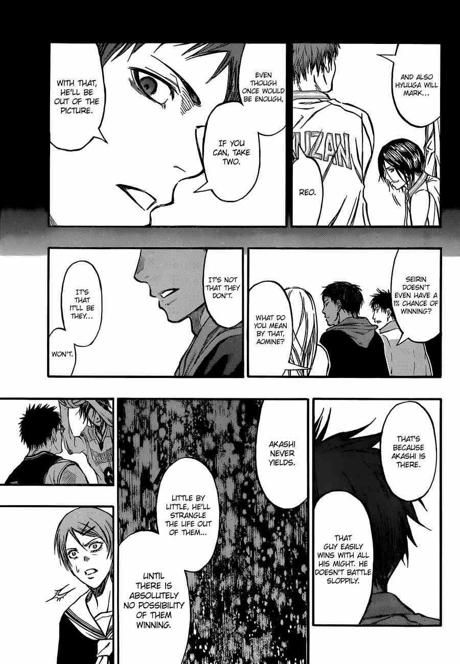 Kuroko no Basket Manga Chapter 246 - Image 17