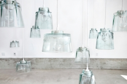 Artistic uses of recycled glass pendant lights in recycled glass no comments mozeypictures Images