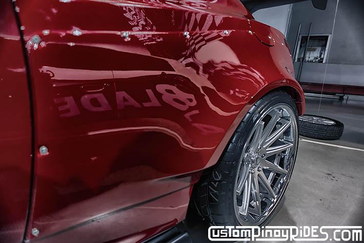 Hyundai Genesis Coupe Amuse Vestito Rocket Bunny Atoy Customs Trans Sport Show Philip Aragones pic5
