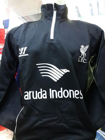 Jual Sweater Liverpool Hitam Garuda Indonesia Terbaru 2014-2015