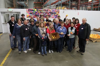 The Rotary Club of Sammamish and friends at Northwest Harvest
