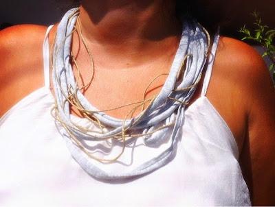 Collar de trapillo handmade