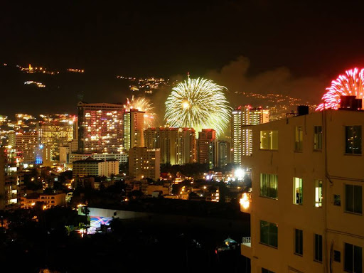 Feliz Año nuevo Acapulco