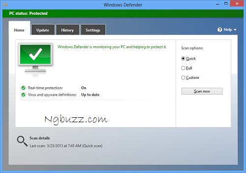Antivirus for Windows 8