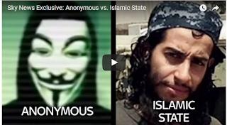 Hãng Tin Sky News Độc Quyền Phỏng vấn Nhóm Hacker Anonymous về Cuộc Chiến Giữa Nhóm Này Với ISIS