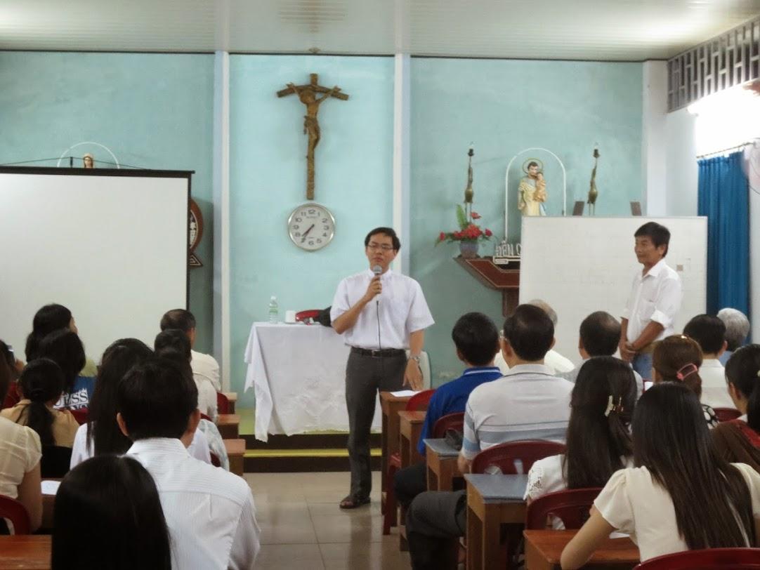 Ban Giáo Lý hạt Nha trang khai giảng khóa giáo lý viên cấp II/2014