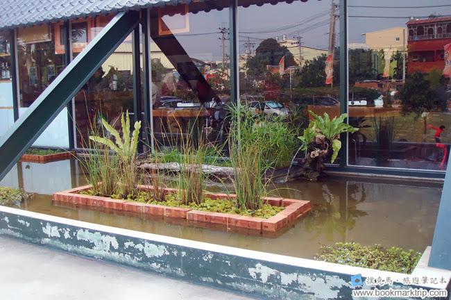 筑園料理餐廳景觀池