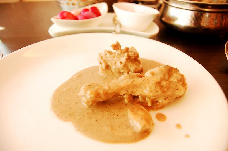 Cream Chicken at Chawla's 2, Golpark, Calcutta