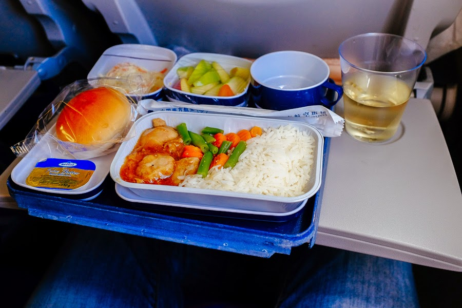 china southern food on board