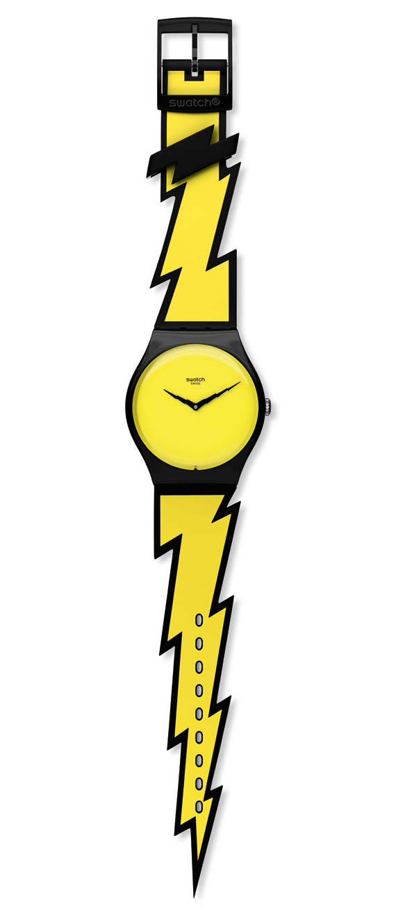 The Jeremy Scott x Swatch is