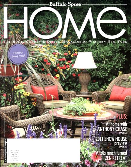 Garden Walk Buffalo Cottage District 5: Two Garden Walk Gardens Featured In Buffalo Spree's HOME