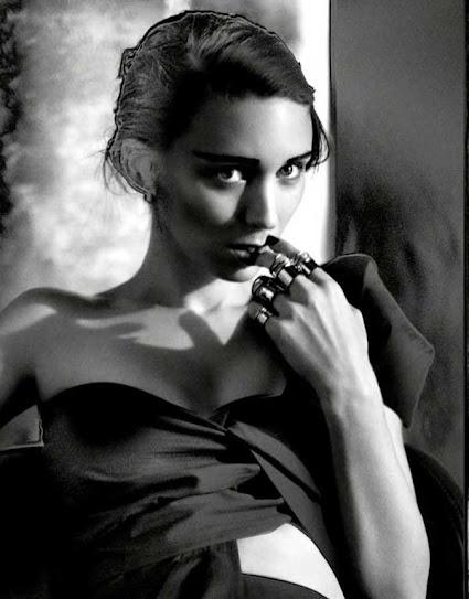 Rooney Mara, blanco y negro