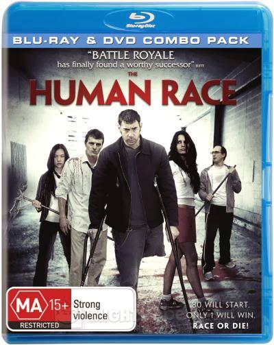 Filme Poster The Human Race BRRip XviD & RMVB Legendado