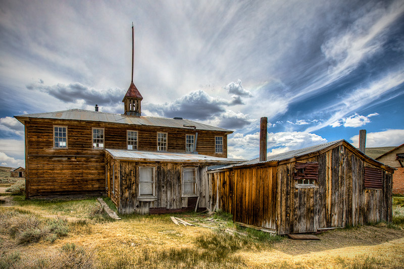 """Bodie Church"" by Ken Pfieffer"