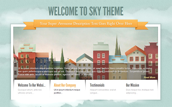 Sky WordPress Wedding Theme