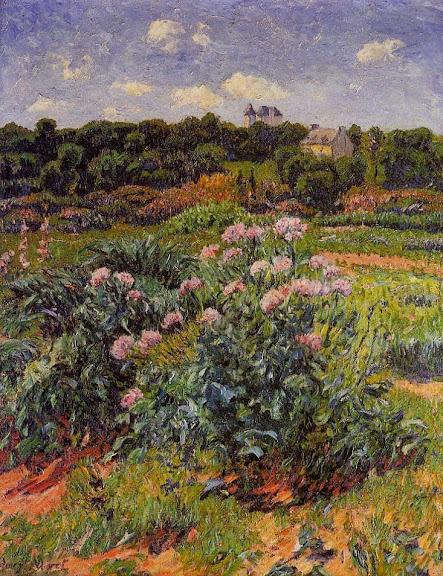 Henry Moret - The Garden, c. 1895