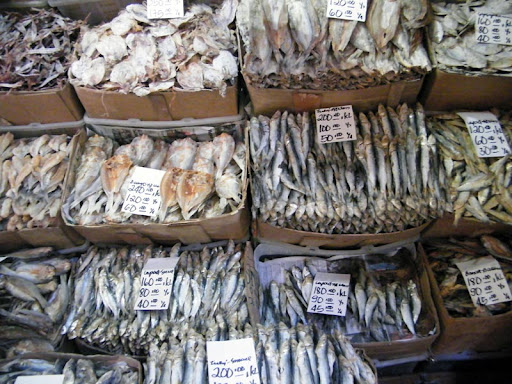 dried2 - Dried fish galore! - Philippine Photo Gallery
