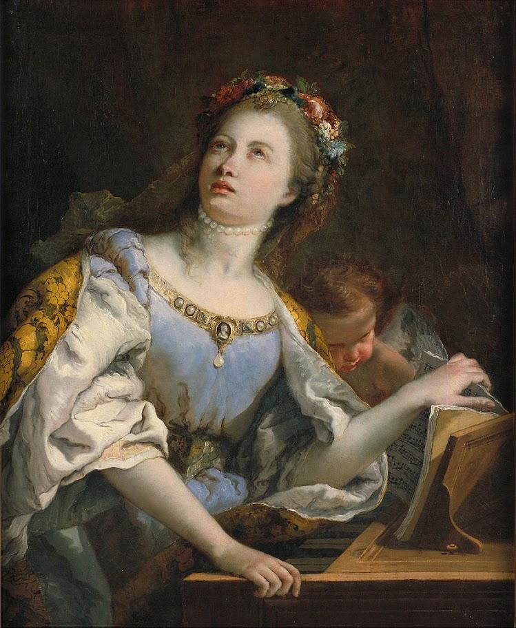 Giovanni Battista Tiepolo - Saint Cecilia