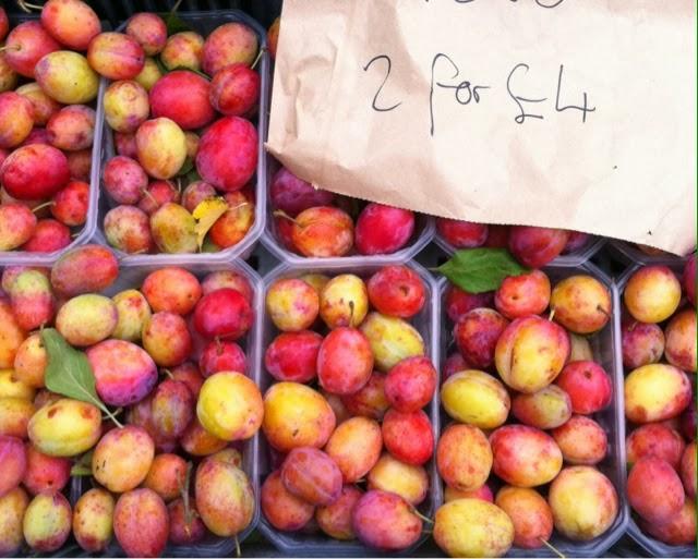 Brockley Market - plums