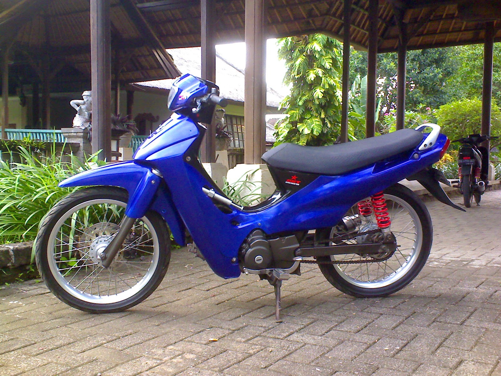 modifikasi motor suzuki shogun 125 r