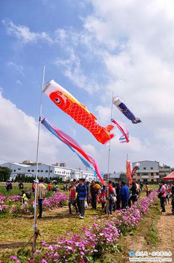2014小麥文化節 - 台灣魚旗