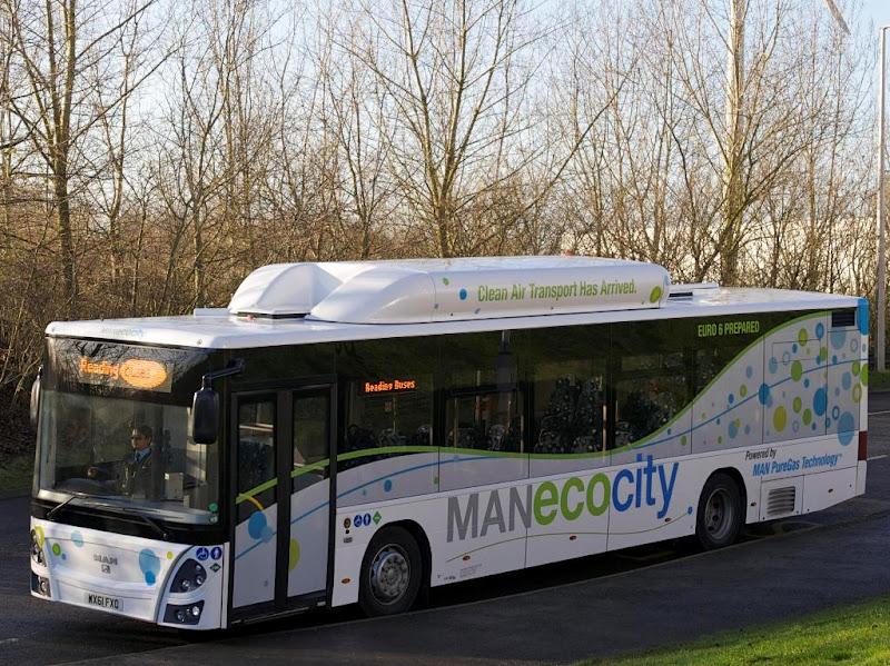 MAN EcoBus CNG - gazowa propozycja dla Wysp Brytyjskich