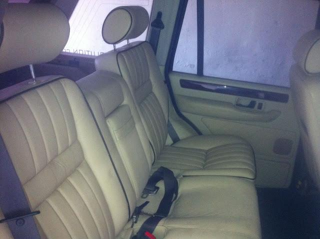 Installation d'un intérieur cuir électrique anglais dans un Pet français à sièges électriques Photo%252820%2529