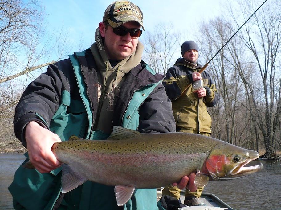 Pere Marquette Winter Steelhead Fishing