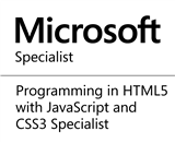 Programming in HTML5 with JavaScript and CSS3 Specialist