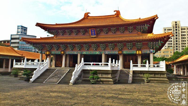 台中景點|台中孔廟-一個拍照的好去處