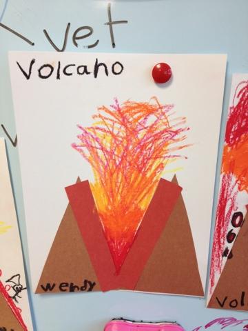Alphabet Letter Craft-...V Is For Volcano