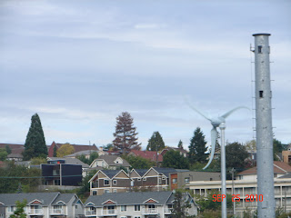 Sunstream 3.7 wind turbine in Seattle's Rainier Valley