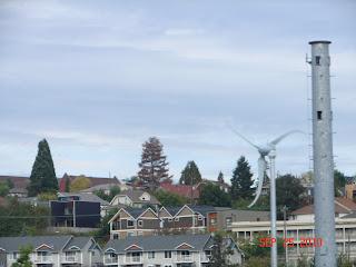 Sunstream 3.7 wind turbine in Seattle's Rainier Valley