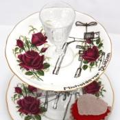 Rose Cake Stand