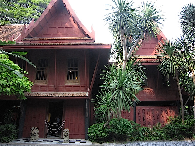 the Jim Thompson House in Bangkok, Thailand