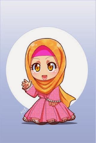 Gambar kartun muslim dan Gambar kartun Islami Paling menarik