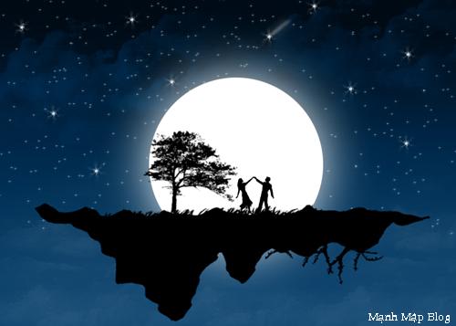 Chùm thơ tình Trăng trong đêm khuya buồn hay nhất