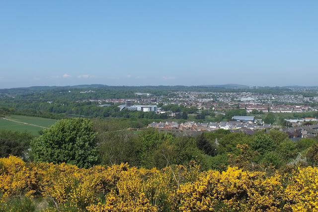 RGU Garthdee from Kincorth Hill