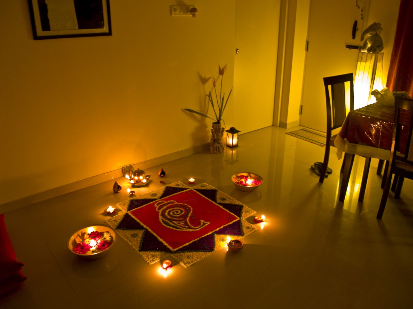 Holi home decoration ideas for Holi decorations at home