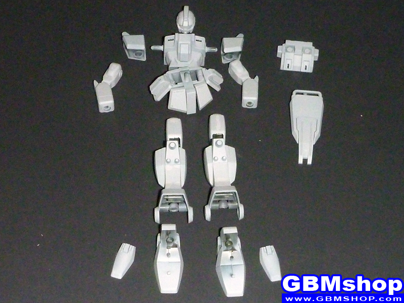 making Bandai 1/144 RGM-79[G] GM Sniper