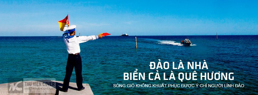 Ảnh bìa đẹp về biển đảo Việt Nam