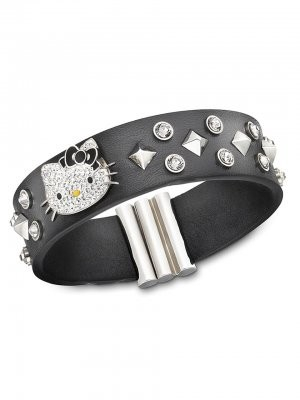 f87c9dfd4 Funky hello kitty charms with rock guitars and stars, leather bracelets and  rock royalty crystal purses. Not to mention a few hello kitty gothic pieces  ...