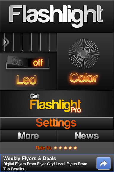 Top 10 Flashlight Apps for iPhone in 2012 | Tech Tips and Toys