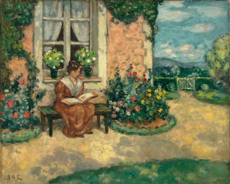 Georges d'Espagnat - Simone, ca.1907