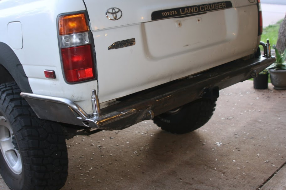 My 4x4 Labs Rear Bumper Build